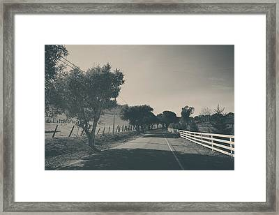 Somethin' About You And I Framed Print by Laurie Search