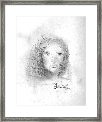 Something About Mary Framed Print