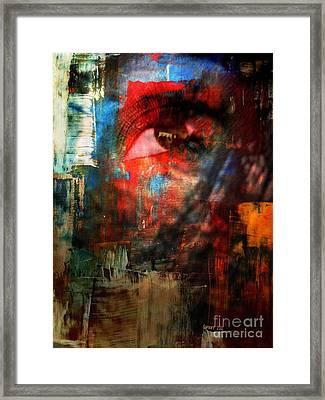 Something In Her Eye Framed Print