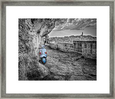 Something Old Something New Framed Print by Michael Avory