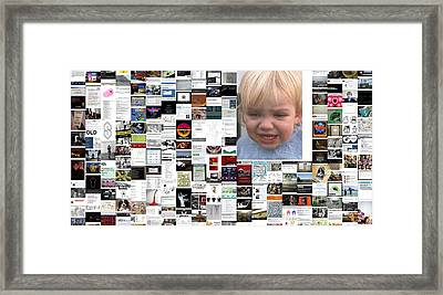 Something To Cry About Framed Print by Holley Jacobs