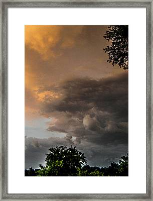 Something Wicked Framed Print by Christy Usilton