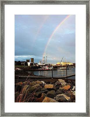 Somewhere..... Framed Print