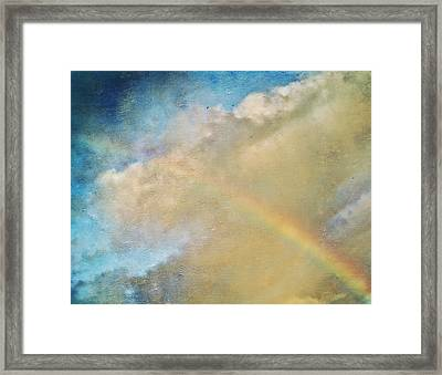 Somewhere Framed Print by Bonnie Bruno