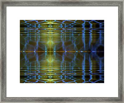 Somewhere In The Middle Framed Print