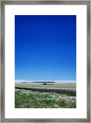 Framed Print featuring the photograph Somewhere On Hwy 285 Number One by Lon Casler Bixby