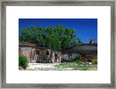 Framed Print featuring the photograph Somewhere On Hwy 285 Number Three by Lon Casler Bixby