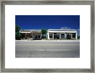 Framed Print featuring the photograph Somewhere On Hwy 285 Number Two by Lon Casler Bixby