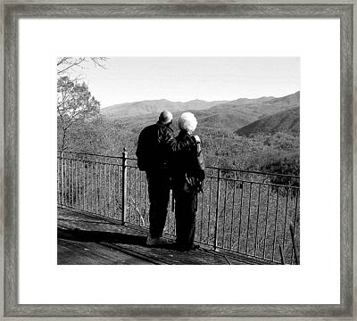 Framed Print featuring the photograph Somewhere There Is A Rainbow by Tanya Tanski