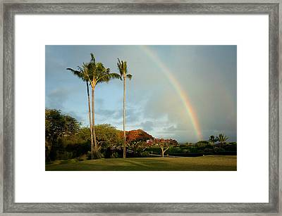 Somewhere Under The Rainbow Framed Print