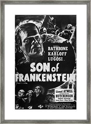 Son Of Frankenstein, 1939 Framed Print by Granger