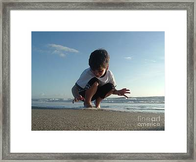 Son Of The Beach Framed Print by Jack Norton
