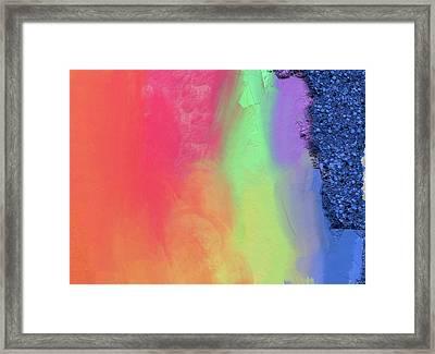 Song At The Sea Framed Print