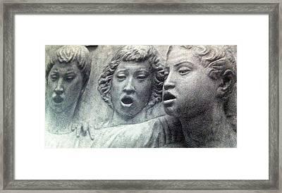 Song Of Fear Framed Print by Paul Washington