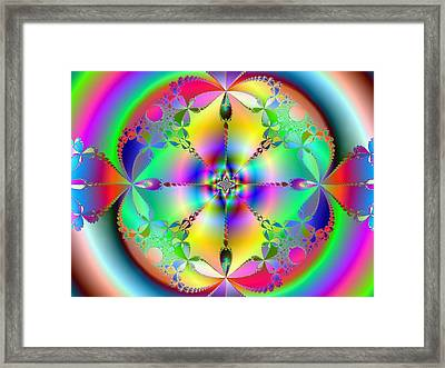 Framed Print featuring the digital art Song Of India by Ann Peck