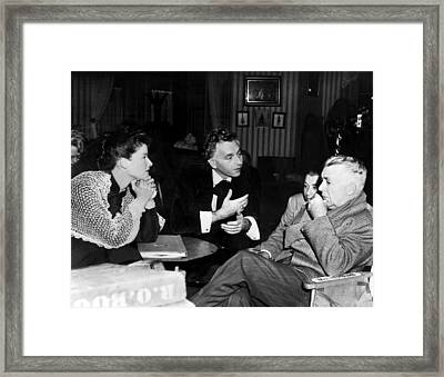 Song Of Love, Katharine Hepburn, Paul Framed Print by Everett