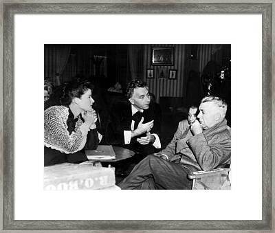 Song Of Love, Katharine Hepburn, Paul Framed Print by Everett