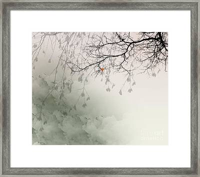 Song Of The Fall Season Framed Print