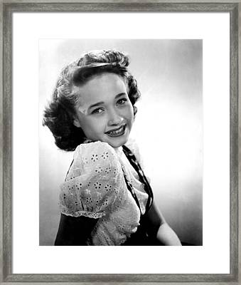 Song Of The Open Road, Jane Powell, 1944 Framed Print by Everett