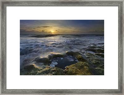 Song Of The Sea Framed Print by Debra and Dave Vanderlaan