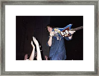 Sonic Youth Moore Theater Seattle Framed Print