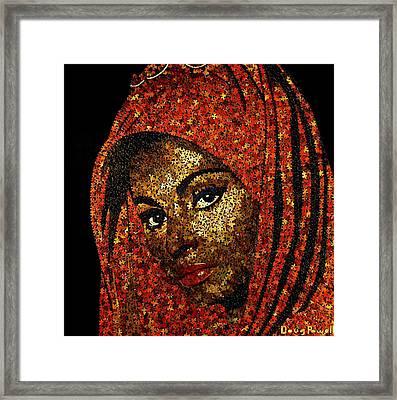 Sophia Framed Print