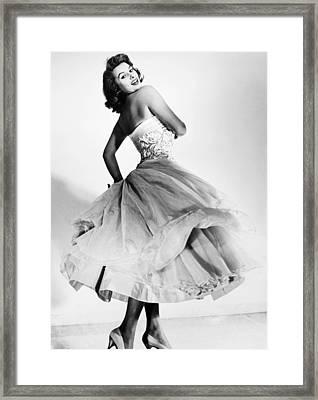Sophia Loren (1934-  ) Framed Print by Granger