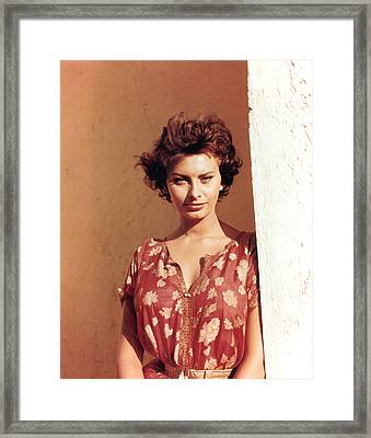 Sophia Loren, Legend Of The Lost, 1957 Framed Print by Everett