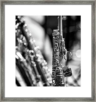Soprano Saxophone Framed Print by © Rune S. Johnsson