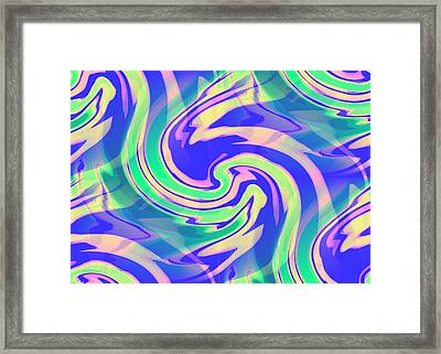 Sorbet Dreams Framed Print