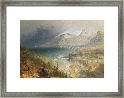 Sorrento Framed Print by JB Pyne