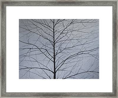 Sorrow Framed Print