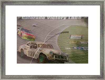 sorry Jeff Framed Print by Bill Dutting