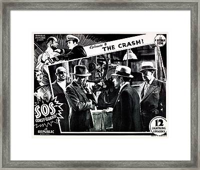 S.o.s. Coast Guard, Episode 8 The Framed Print by Everett