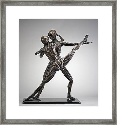 Soul Dance - Front View Framed Print