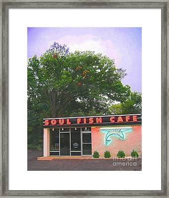 Soul Fish Framed Print by Lizi Beard-Ward