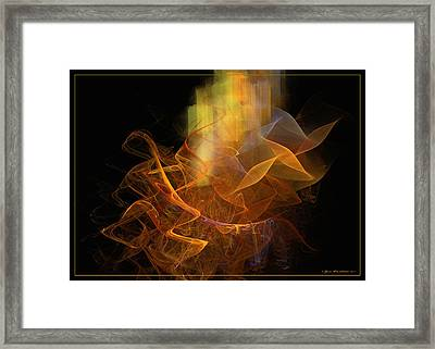 Soul Flower Framed Print by Sipo Liimatainen