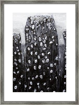Soul Groups Framed Print by Kazuya Akimoto