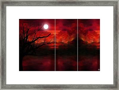Soul Observer Framed Print by Lourry Legarde