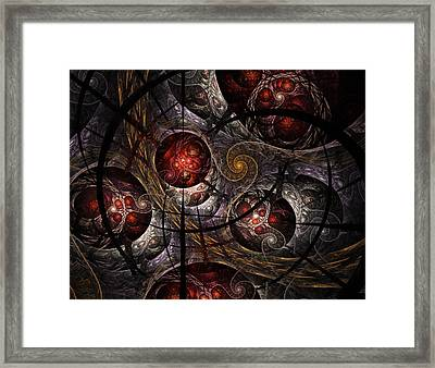 Framed Print featuring the digital art Soul Of Osiris by NirvanaBlues