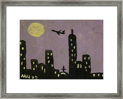 Soul Of The City Framed Print