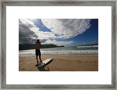 Soul Surfer Framed Print