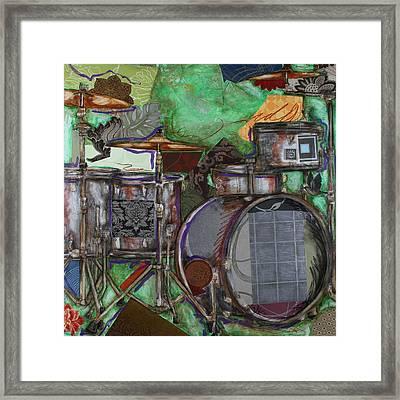 Soul The Drums Framed Print