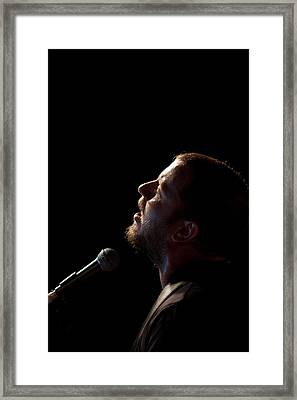 Soulful Singer - Ard Matthews Framed Print by Miguel Capelo