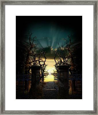 Souls Night Framed Print by Lisa Evans