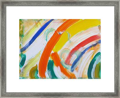 Framed Print featuring the painting Souls by Sonali Gangane