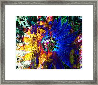 Souls United Framed Print