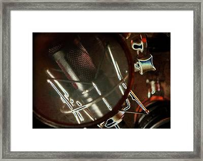 Sound Check Framed Print by Michael Wilcox