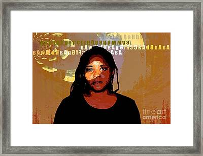 Sound From Home Framed Print by Fania Simon