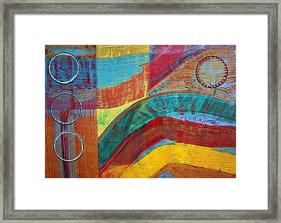 Sound In Motion Framed Print by Connie Carleton